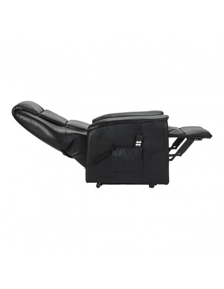 Tivoli Small in pelle Poltrona elettrica alzapersona con reclinazione indipendente IT