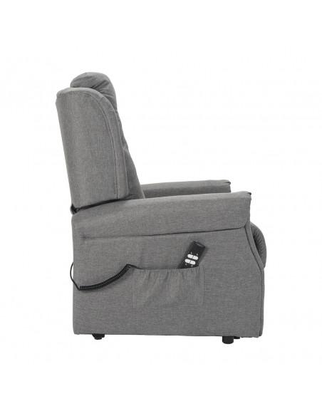 Favola Poltrona con alzapersona e reclinazione indipendente. Rivestimento in tessuto IT