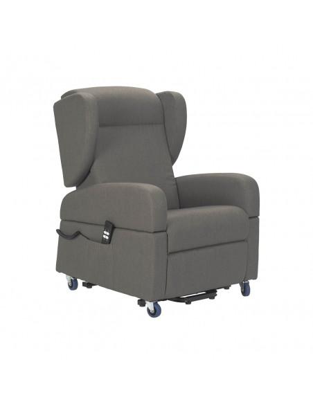 Torino Poltrona con braccioli estraibili e kit roller, reclinazione elettrica indipendente e sistema alzapersona IT
