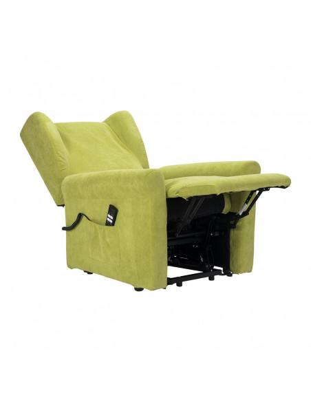 Chiara poltrona relax sfoderabile con reclinazione indipendente IT