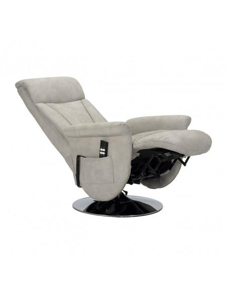 Washington Poltrona relax girevole con reclinazione indipendente a due motori IT