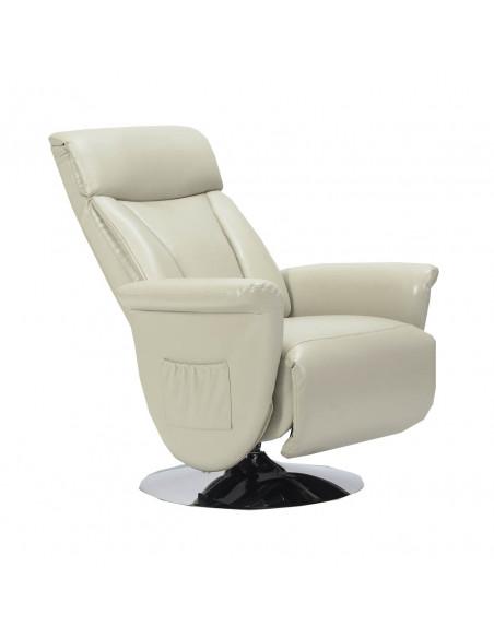 Washington in pelle Poltrona relax girevole con reclinazione indipendente a due motori IT