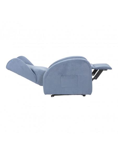Poltrona elettrica alzapersona, reclinabile 2 motori indipendenti, seduta indeformab, orecchie laterali, spesa detraibile IVA4%