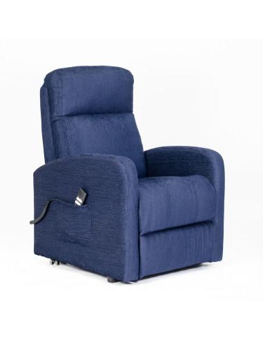 Poltrona elettrica, alzapersona, 2 mot. reclinazione indipendente  schiena/piedi, soffice, seduta indeformabile, best price 2 mot