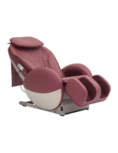 Poltrona massaggiante professionale, dimensioni contenute, 7 massaggi e pressoterapia, ecc