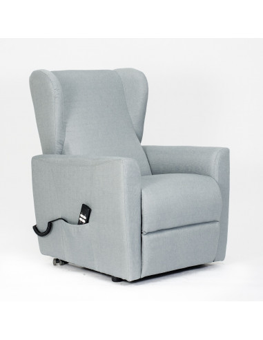 13ae13db1e Poltrona alzapersona, reclinabile 2 motori indipendenti, seduta  indeformabile, comode orecchie laterali, spesa