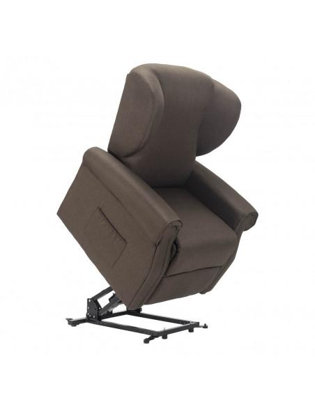 Poltrona relax, alzapersona, movimento schiena/piedi indipendente, comode orecchie, antimacchia, seduta indeformabile IVA4%