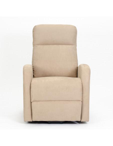 Poltrona elettrica, alzapersona, 1 mot. reclinzione combinata con pediera anticipata, soffice, seduta indeformabile, best price